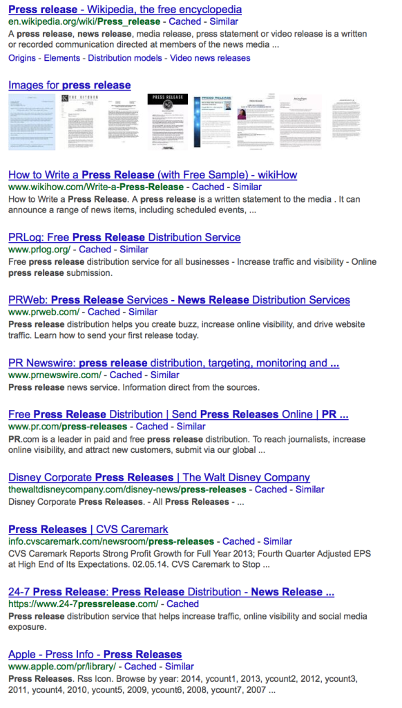 IrishWonder\'s SEO Consulting Blog » Blog Archive » What Happened ...