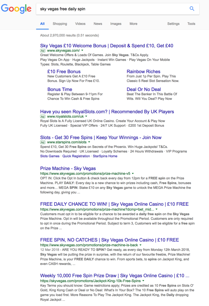 fully branded serps